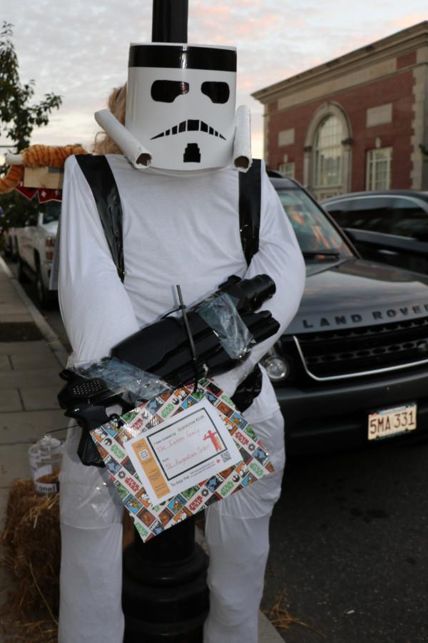 storm trooper scarecrow